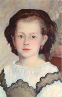 Art - Peinture - Pierre Auguste Renoir - Portrait De Mademoiselle Romaine Lacaux - CPM - Voir Scans Recto-Verso - Peintures & Tableaux