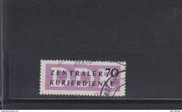 "DDR Dienst B Michel Kat.Nr. 13   Gest  ""2000"" - Service"