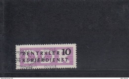 "DDR Dienst B Michel Kat.Nr. 10 Gest ""8004"" - Service"