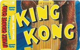 USA - Nynex (Tamura) - King Kong (Puzzle 2-3), 1994, 1$, 8.483ex, Mint - [3] Magnetic Cards
