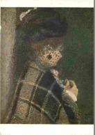 Art - Peinture - Pierre-Auguste Renoir - L'eiiime à La Voilette - Carte Neuve - CPM - Voir Scans Recto-Verso - Peintures & Tableaux