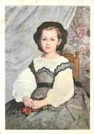 Art - Peinture - Pierre-Auguste Renoir - Portrait De Mademoiselle Romaine Lacaux - CPM - Voir Scans Recto-Verso - Peintures & Tableaux