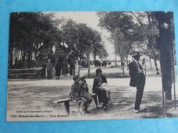 17 , LA TREMBLADE , RONCE Les BAINS : PLACE BROCHARD , Animée  , C.P.A., En Bon état - La Tremblade