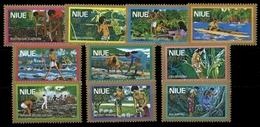 1979, Niue, 224-33, ** - Niue