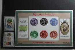 Marokko 1222-1223, Block 21 ** Postfrisch #TQ401 - Marokko (1956-...)