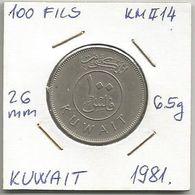 A10 Kuwait 100 Fils 1981. KM#14 - Kuwait