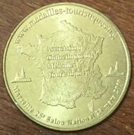 13 MARSEILLE 26e SALON NATIONAL MÉDAILLE TOURISTIQUE MONNAIE DE PARIS 2010 JETON MEDALS COINS TOKENS - Monnaie De Paris