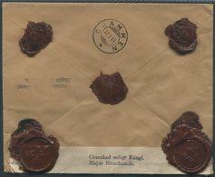 1944 Sweden Registered Goteborg Cover - Drammen Norway. Censor - Storia Postale
