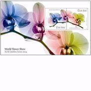 Ireland 2014 - World Flower Show Minisheet Mnh - 1949-... Repubblica D'Irlanda