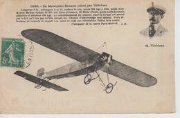 CPA Le Monoplan Morane Piloté Par Védrines ... Vainqueur De La Course Paris-Madrid - Aviatori