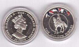 Falkland Islands - 50 Pence 2002 UNC Comm. Lemberg-Zp - Malvinas