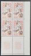 N° 2031 Neuf ** Gomme D'Origine, Bloc De 4  TTB - Unused Stamps