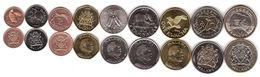 #1 - Malawi - Set 9 Coins 1 2 5 10 20 50 Tambala 1 5 10 Kwacha 1996 - 2006 UNC Lemberg-Zp - Malawi