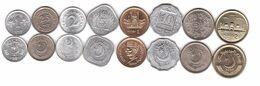 Pakistan - Set 8 Coins 1 2 5 10 25 50 Paisa 1 2 Rupee 1967 - 2005 AUNC Lemberg-Zp - Pakistán