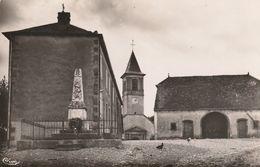 CPSM HAUTE SAONE MELINCOURT - Le Monument Et Les écoles - Sonstige Gemeinden