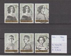 België 1962 - Yv./OCB 1233/38 Gest./obl./used - Usati