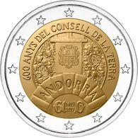 """ANDORRA  2€  2.019  2019  """"600 ANYS DEL CONSELL DE LA TERRA""""  SC/UNC   T-DL-12.467 - Andorra"""