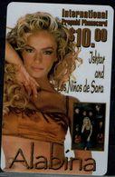 USA 1999 PHONECARD ALABINA WORLD MUSIC FOR PEASE MINT VF!! - Música