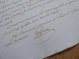 General EMPIRE Napoléon : GOGUET (1813) Bera Vera Spana Espagne Navarre AUTOGRAPH Autografo - Autographs