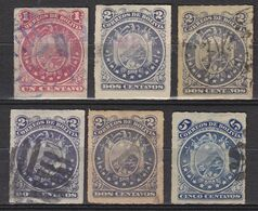 BOLIVIA 1887-1894,old Stamps,good Quality,different Colour,see 19 Scans  [4] - Sammlungen (im Alben)