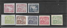 CHINE Du Nord Sc 3L24 à 3L31 (sauf 3L25) Et 3L97 - Chine Du Nord 1949-50