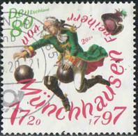 Allemagne 2020 - Baron Von Munchhausen - Oblitéré - [7] Repubblica Federale