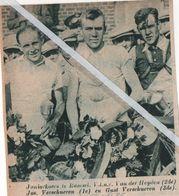 WIELERSPORT..1936.. RAMSEL JUNIORESKOERS  VAN DER HEYDEN / JOS VERSCHUEREN / GUOT VERSCHUEREN - Unclassified