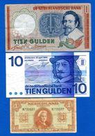 Pays  Bas  3  Billets - [2] 1815-… : Regno Dei Paesi Bassi