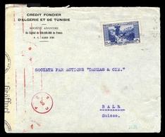 1940, Libanon, 214, Brief - Libano