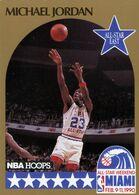 "Michael Jordan, ""Bulls"", 1990-91 NBA Hoops Basketball Card #5. Free WW S/H - Singles (Semplici)"