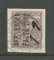 Ethiopia Ethiopie SG 159 Dire Dawa Provisionnal Issue Used On Piece 1911 - Ethiopie