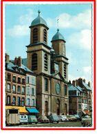 25163 CPM  SEDAN : L' Eglise , Superbe Carte Photo !!!   1967! Voitures Années 60 !! - Sedan