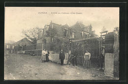 CPA Ouroux, Entrée Du Château, Côté Ouest - Sin Clasificación