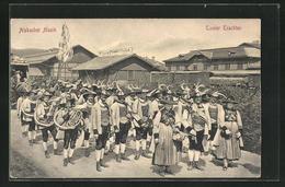 AK Alpbach, Alpbacher Musikkapelle An Der Zementfabrik M. Egger - Non Classés