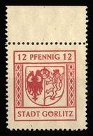 1945, Deutsche Lokalausgabe Görlitz, 8 Y, ** - Deutschland