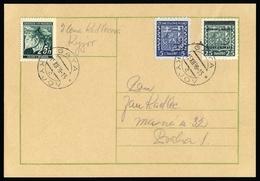 1939, Böhmen Und Mähren, 4 U.a., Brief - Böhmen Und Mähren