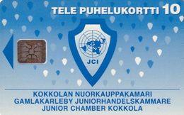FINLAND - Junior Chamber Kokkola, CN : C43000785, Tirage %2000, 04/94, Used - Finlandia