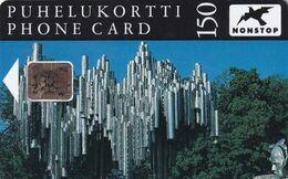 FINLAND - Sibelius Monument, CN : 41297, Tirage %5000, 07/92, Used - Finlandia
