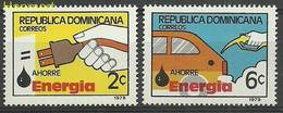 Dominican Republic 1979 Mi 1241-1242 MNH ( ZS2 DOR1241-1242 ) - Environment & Climate Protection