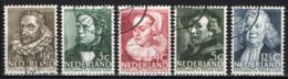 OLANDA - 1938 - UOMINI ILLUSTRI - USATI - Usados