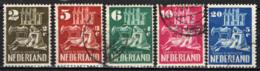 OLANDA - 1950 - PRO RICOSTRUZIONE CHIESE DISTRUTTE DALLA GUERRA - IL BUON SAMARITANO - USATI - Usados