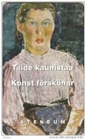 FINLAND(chip) - Ateneum, Painting/Riekkalan Tytto 1914, HPY Telecard, CN : 000163, Tirage 10000, 06/98, Used - Finlandia