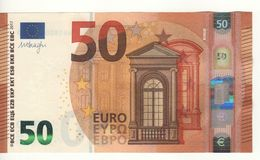 50 EURO  'Germany'  DRAGHI   W 013 B1    WB1800453609  /   FDS - UNC - EURO