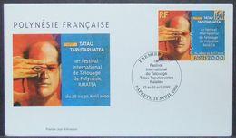 French Polynesia - FDC 2000 Tatoo - Polynésie Française