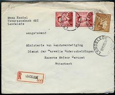 Doc. De LENDELEDE   Le 19/11/55  En Rec. ( E ) - Postmark Collection