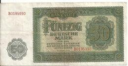 ALLEMAGNE 50 MARK 1948 VF P 145 - [ 6] 1949-1990 : RDA - Rep. Dem. Tedesca