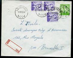 Doc. De LEIGNON - A A - Du 19/12/63  En Rec. ( E ) - Postmark Collection