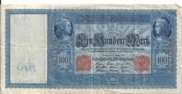 ALLEMAGNE 100 MARK 1910 VF P 42 - [ 2] 1871-1918 : Impero Tedesco