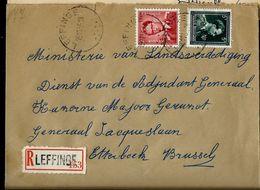 Doc. De LEFFINGE  Le 15/11/55 En Rec. ( E ) - Postmark Collection