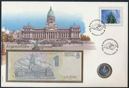 Geldschein Banknote Banknotenbrief Argentinien 1995 Schön Und Exotisches Motiv   - Billets